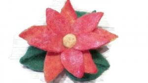 Filzblume, gefilze Blume, Seerose, Rose, Handarbeit, Deko, Unikat, nadelgefilzt, Geschenk, Geburtstag - Handarbeit kaufen