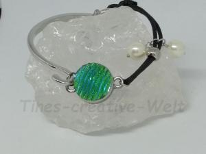 Armreif, Armband, Armspange, Druckknopfarmband, Lederband, Leder, Druckknopf, Geburtstagsgeschenk, Geschenk für Frauen - Handarbeit kaufen