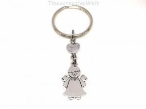 Schlüsselanhänger, Schutzengel, Herz, Glücksbringer, Dankeschön, Engel, Geschenk - Handarbeit kaufen