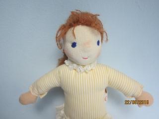 Schutzengel Puppe, Engelchen, Julia Engel Puppe, Schutzengel puppe, 25cm, Geflügeltes Wesen, Waldorf Inspiriert,  - Handarbeit kaufen