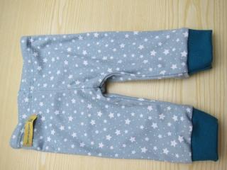 Baby  Sternen Hose in Beige, Petrol oder  Grau passendend zu T-shirts und Pullies im mein Geschäft Größe 62-68 Viele größen - Handarbeit kaufen