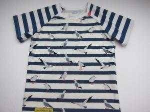 UrlaubsMarine T-Shirt für Buben und Mädchen Größe 98, 9- 12 mo, Urlaubs T-shirt - Handarbeit kaufen