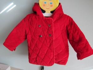 Kord Kapuzen Jacket mit Sternen Futter in Tomaten Rot, Marine Blau, Mantel, Buben oder Mädchen, gr 80-86