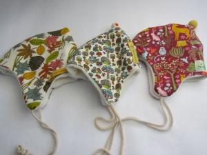 Loop Schal, Herbst Blätter Schal mit Alpine Fleece Futter, Öko Kinder Schal, - Handarbeit kaufen