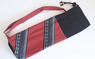 Tasche für eine Yogamatte im Ethno-Look