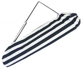 Beutel für eine Yogamatte in schwarz weiß gestreift Yogatasche