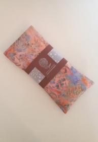 Lavendelkissen mit Leinsamen, für die Augen, zur Entspannung, batik blumen