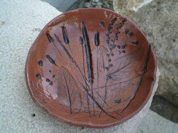 Schale aus Keramik ideal für Kuchen, Keckse und anderen Naschereien