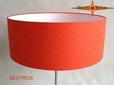 Stehleuchte orange BEATRICE sonniges Orange Stehlampe