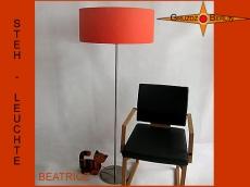 Stehleuchte orange BEATRICE sonniges Orange Stehlampe