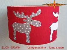 Kinderlampenschirm ELCH ERWIN Ø 45 cm