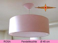 Lampe ROSA Ø45 cm Hängelampe mit Lichtrand Diffusor