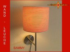 Wandlampe Rot Weiss SAMMY Wandleuchte