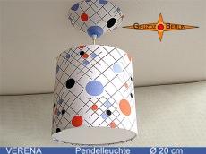 Kleine Lampe mit Punktemuster VERENA Ø20 cm