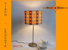 Tischlampe BRITTA Vintage Stil der 70er Jahre
