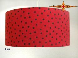 Lampenschirm gepunktet wie ein Marienkäfer LULU Ø50 cm