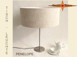 Tischlampe aus Leinen PENELOPE Tischleuchte