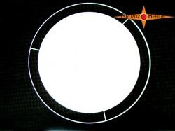 Lampendiffusor Ø50 cm Diffusor mit Lichtrand