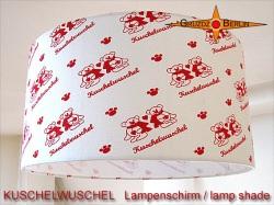 Kinderlampenschirm KUSCHELWUSCHEL Ø40 cm Bären auf der Lampen