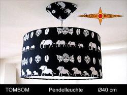 Lampe in afrikanischem Design  TOMBOM Ø40 cm