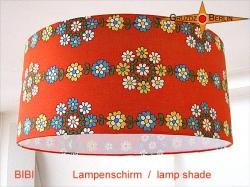 Vintage Lampenschirm BIBI Ø45 cm aus Retrostoff