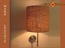 Wandlampe aus Jute HEIDE Jutelampe