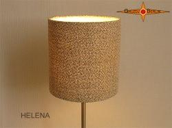 Wandlampe aus Leinen HELENA