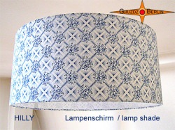 Lampenschirm in Vintage Design HILLY Ø45 cm