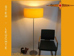 Gelbe Stehlampe LUCILA