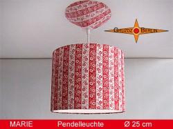 Vintage Hängelampe MARIE Ø 25 cm  mit Diffusor