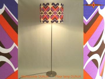 Stehlampe Vintage Design DUNJA im Pantonstil 70er
