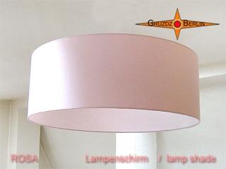Lampenschirm ROSA Ø60 cm für Loungeleuchten Rosa