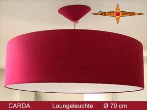 Loungelampe bordo CARDA Ø70 cm Pendellampe mit Diffusor Lampe