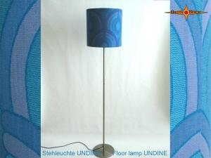 Vintage Design Stehleuchte UNDINE Stehlampe im Pantonstil 70er Jahre