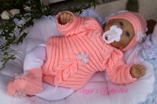 Strickanleitung für Baby's u. Reborns Modell Coco Gr. 50-56