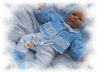 Strickanleitung für Baby's u. Reborns Modell Andy Gr. 50-56