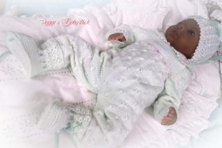 Strickanleitung Für Babys u. Reborns Modell Amelie Gr. 48-50