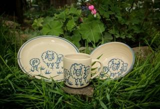 Handgemachtes Keramik-Kindergeschirr (Kopie id: 100110153)