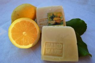 Citronella handgemachte Pflanzenölseife Zitronen frisch