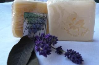 Lavendelseife, beruhigend, antiseptisch, entzündungshemmend, antibakteriell