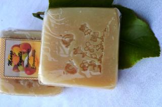 Mango-Vanille Seife, wunderbar fruchtig, tolle Duschseife