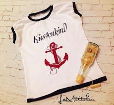 Shirt Küstenkind maritim