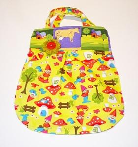 Shopper, Kindertasche, Wendetasche für kleine Fräuleins