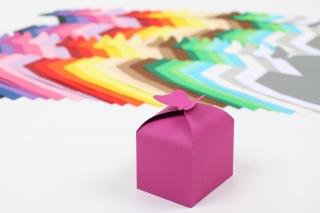 10 Geschenkboxen mit Schmetterlingsverschluss - Farbe frei wählbar - Handarbeit kaufen