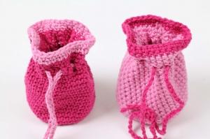 2 Murmelsäckchen auch als Geschenkbeutel für z.B. Geldgeschenke/Schmuck/Schminkutensilien zu verwenden  - Handarbeit kaufen
