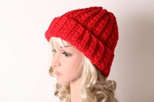 kuschelig warme Häkelmütze Mütze Wintermütze für Damen Beanie handgehäkelt - Handarbeit kaufen