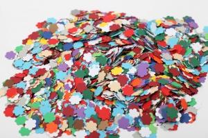 3000 mini Blumen als Streudeko, Tischdeko , Konfetti, Stanzteile zur Kartengestaltung, Blüten aus 220 gramm Tonkarton - Handarbeit kaufen