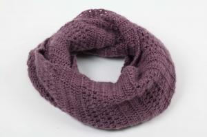 Häkelloop Loop Schlauchschal aus flauschiger Wolle mit Mohair-Opitk- perfekt für die kalten Tage gehäkelt im Fantasiemuster  - Handarbeit kaufen