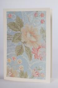 romantische Grußkarte für viele Anlässe in Handarbeit hergestellt - Handarbeit kaufen