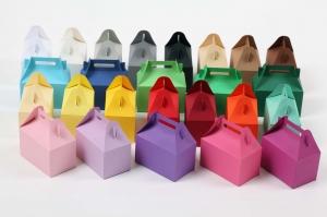 20 gestanzte Rohlinge zum Selber basteln von 10 Boxen Schachteln Farbe frei wählbar Geschenkschachteln (ungeklebt) - Handarbeit kaufen